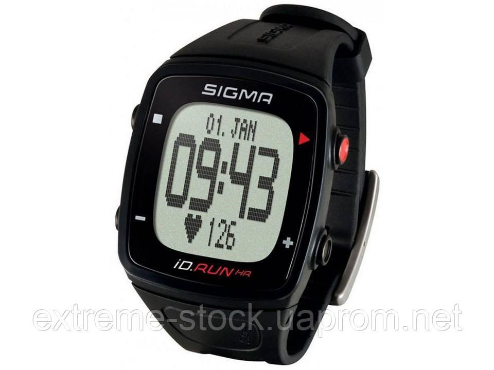 Пульсометр Sigma Sport ID.RUN HR, чорний, трекер