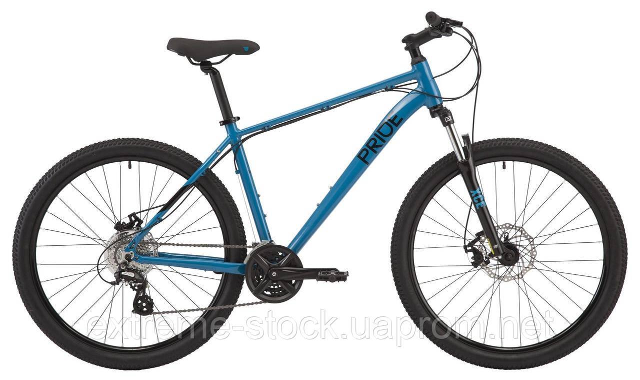 Велосипед 27.5 Pride MARVEL 7.2 - 2021 бирюзовый L