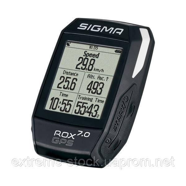 Велокомпьютер Sigma Rox 7.0 GPS, чёрный