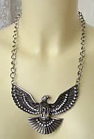 Ожерелье женское колье модное металл ювелирная бижутерия 4819