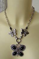Ожерелье женское колье модное металл ювелирная бижутерия 4820