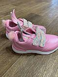Кросівки рожеві з вушками: 26,27,28,29,30,31, фото 3