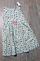 Платье  H&M  принтом  для девочки 9|10 лет