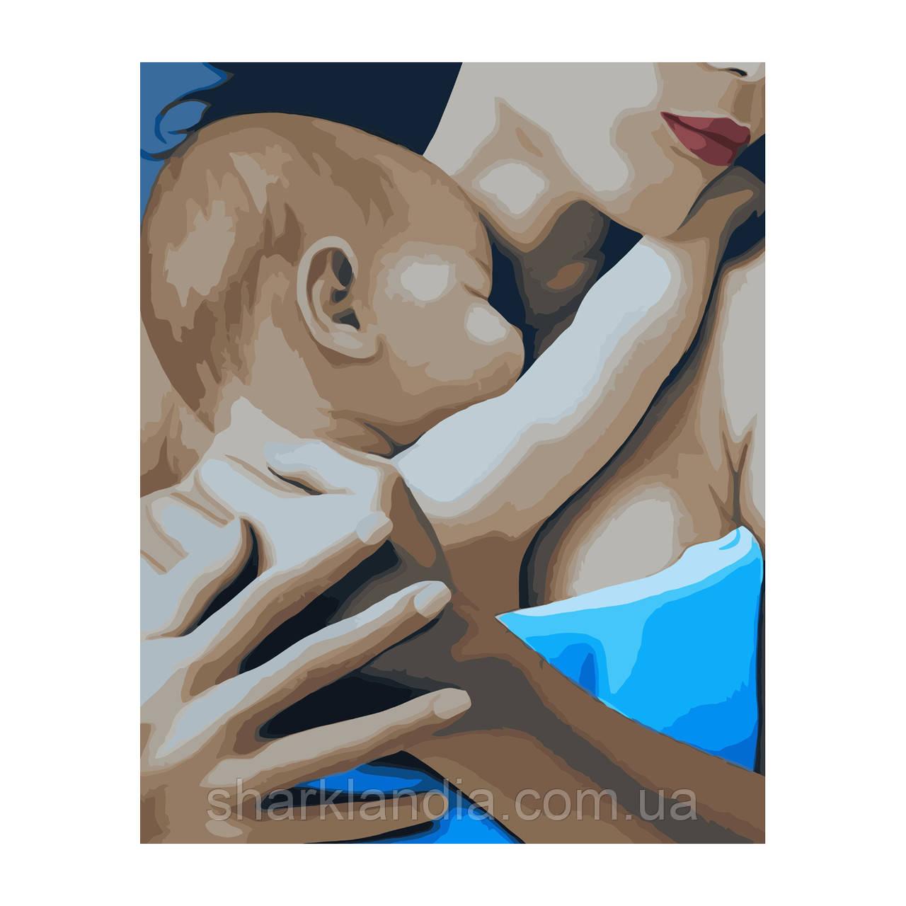 Картина за номерами Материнство  40*50см Strateg Розмальовки