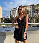 Женское платье, софт, р-р универсальный 42-46 (черный), фото 2
