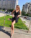 Женское платье, софт, р-р универсальный 42-46 (черный), фото 4