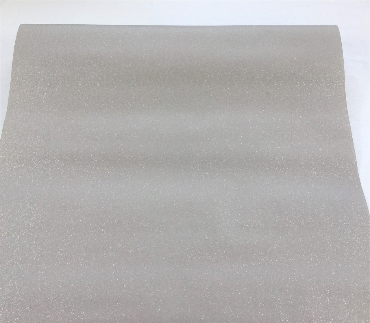 Сірі однотонні шпалери 296528, з гладкою вінілової іскристою поверхнею - металік, миються на флізелін
