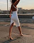Женское платье, креп-дайвинг, р-р 42-44; 44-46 (белый), фото 4