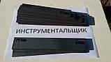 Заготівля для ножа сталь М390 164х45х4.3 мм термообробка (61 HRC), фото 3