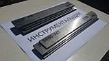 Заготівля для ножа сталь ДИ90-МП 250х38х4,5 мм термообробка (60 HRC) шліфування, фото 4