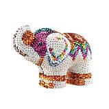 Фігурка з паєток набір для дитячої творчості 3D Слон Sequin Art, фото 3
