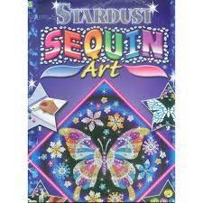 Картина паєтками для дітей набір для дитячої творчості Метелик Sequin Art