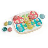 Мозаика для самых маленьких (большие фишки (21 шт.) + доска) Play Bio, Quercetti, Мозаика детская, фото 2