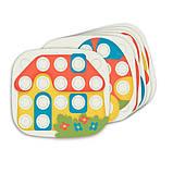 Мозаика для самых маленьких (большие фишки (21 шт.) + доска) Play Bio, Quercetti, Мозаика детская, фото 3