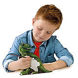 Набір для створення гіпсової фігурки - Ті-Рекс зі скелетом, фото 5