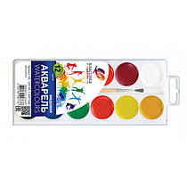 Акварель Промінь Класика 12 кольорів в пласт. упаковці з/до 19С 1287-08