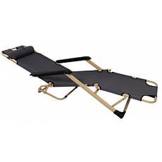 Шезлонг лежак Bonro 180 см серый, фото 3