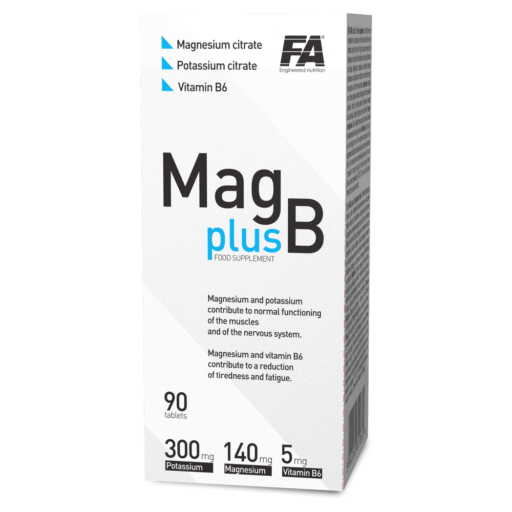 Fitness Authority Mag plus B - 90 tabs