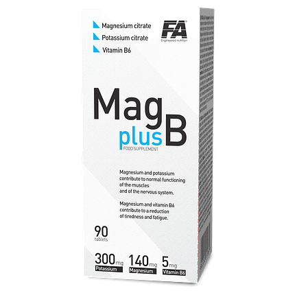 Fitness Authority Mag plus B - 90 tabs, фото 2