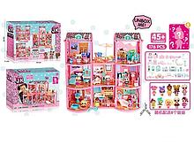 Игровой кукольный домик ЛОЛ ВВ 004 с мебелью ,8 кукол