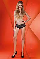 Соблазнительные черные кружевные трусики-шортики Livia corsetti Melanie