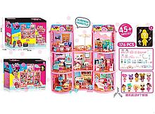 Игровой кукольный домик ЛОЛ ВВ 015 с мебелью и куклами