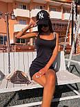 Коротке плаття майка з U - подібним вирізом (р. 42-44) 5032704, фото 7