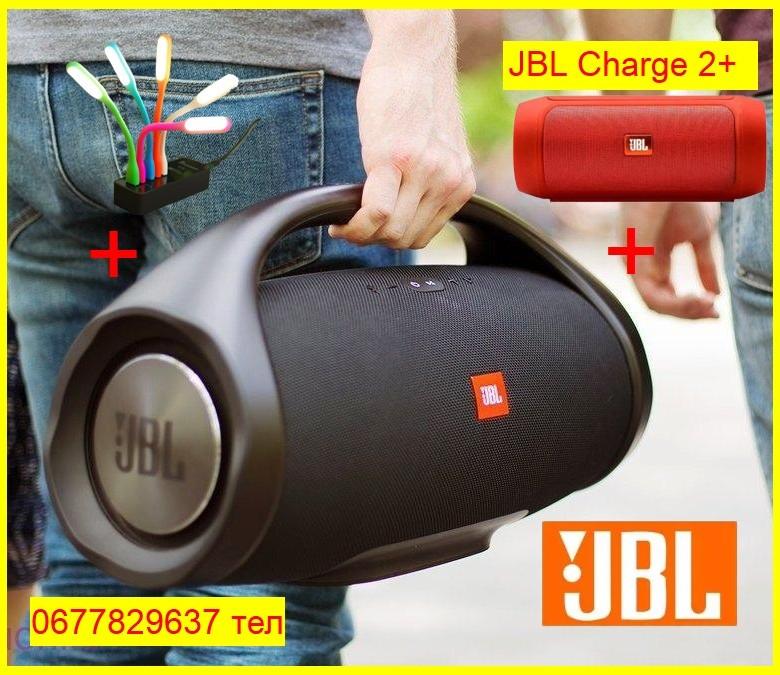 Портативна JBL Boombox BIG BASS 40BT 10000mAh Колонка Bluetooth, SD,USB ВЕЛИКА Джбл Бумбокс Біг Блютуз ФМ