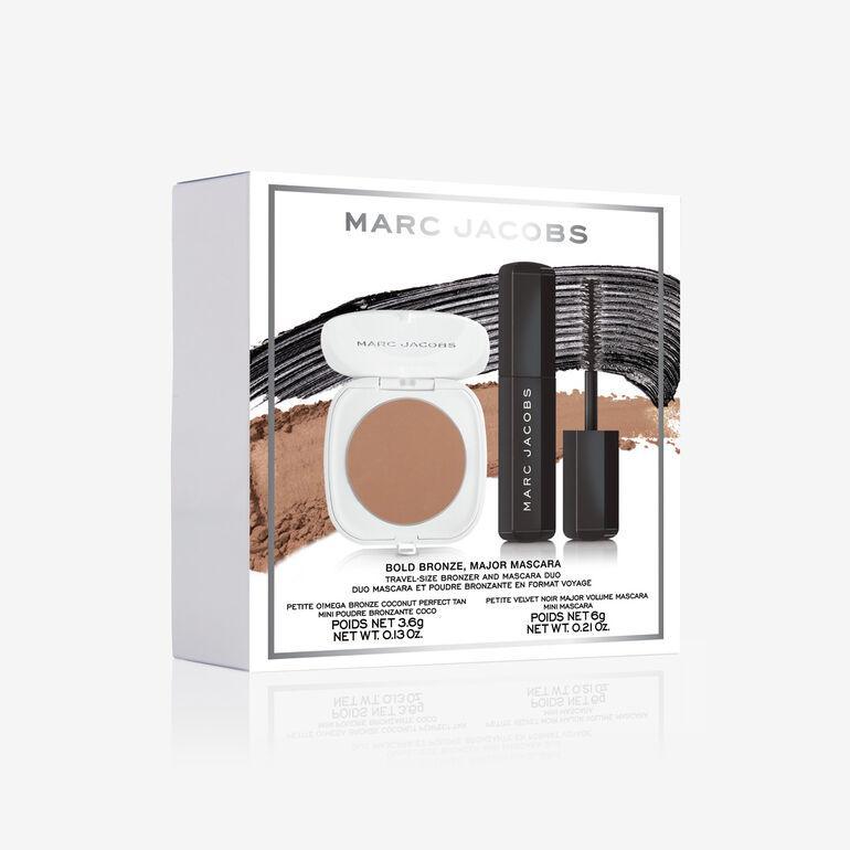 Набор для макияжа лица Marc Jacobs Bold Bronze, Major Mascara Duo