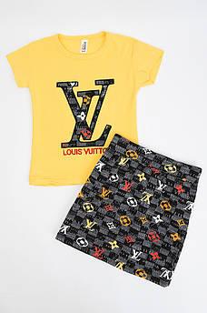 Костюм детский желтый LV AAA 118638M