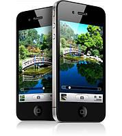 Китайский iPhone 4S  Android 3,5 дюйма, 1 сим, цвет черный., фото 1