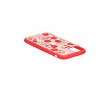 Чехол Микки Маус для Apple Iphone 11, Красный / Черный, фото 2