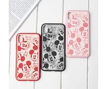 Чехол Микки Маус для Apple Iphone 11, Красный / Черный, фото 3