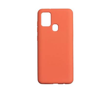 Чехол для Samsung A21s Оранжевый / Розовый / Голубой, фото 2
