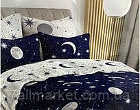 """Комплект постільної білизни двох-спальний КОСМОС (мікс) """"COMFORT"""" недорого від прямого постачальника"""