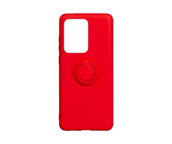 Чехол для  Samsung S20 Ultra Красный / Синий / Черный / Лавандовый