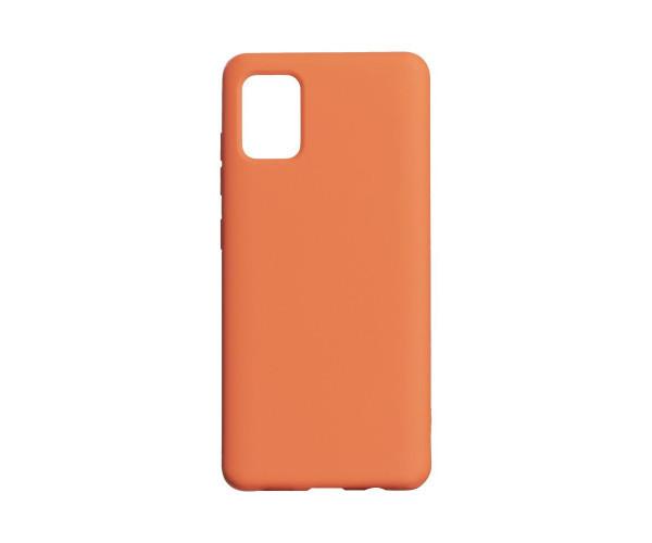 Чехол для  Samsung A51 Оранжевый / Черный / Красный