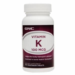 GNC Vitamin K 100 - 100 tabs