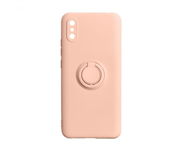 Чехол для Xiaomi Redmi 9A Панель-Накладка Силикон