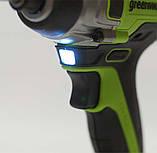 Гайковерт ударний акумуляторний Greenworks GD24IW400 без АКБ і ЗП, фото 4