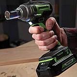 Гайковерт ударний акумуляторний Greenworks GD24IW400 без АКБ і ЗП, фото 3