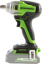 Гайковерт ударний акумуляторний Greenworks GD24IW400 без АКБ і ЗП