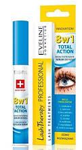 Сироватка для вій Eveline Cosmetics Multi-Purpose Eyelash Serum Total Action 8in1