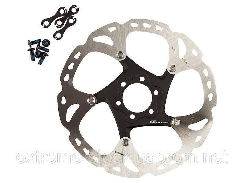 Ротор Shimano Deore XT SM-RT86, 180 mm, Ice-Tech, на павука
