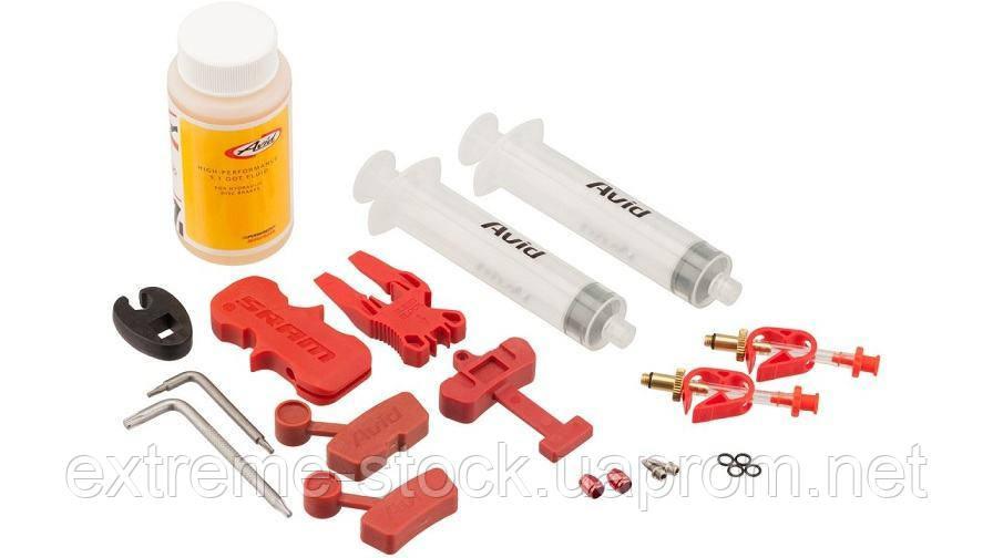 Набор для прокачки Avid Bleed Kit Standard + DOT 5.1
