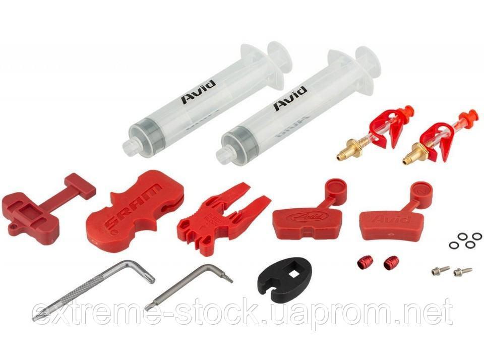 Набор для прокачки Avid Bleed Kit Standard, без тормозной жидкости DOT 5.1