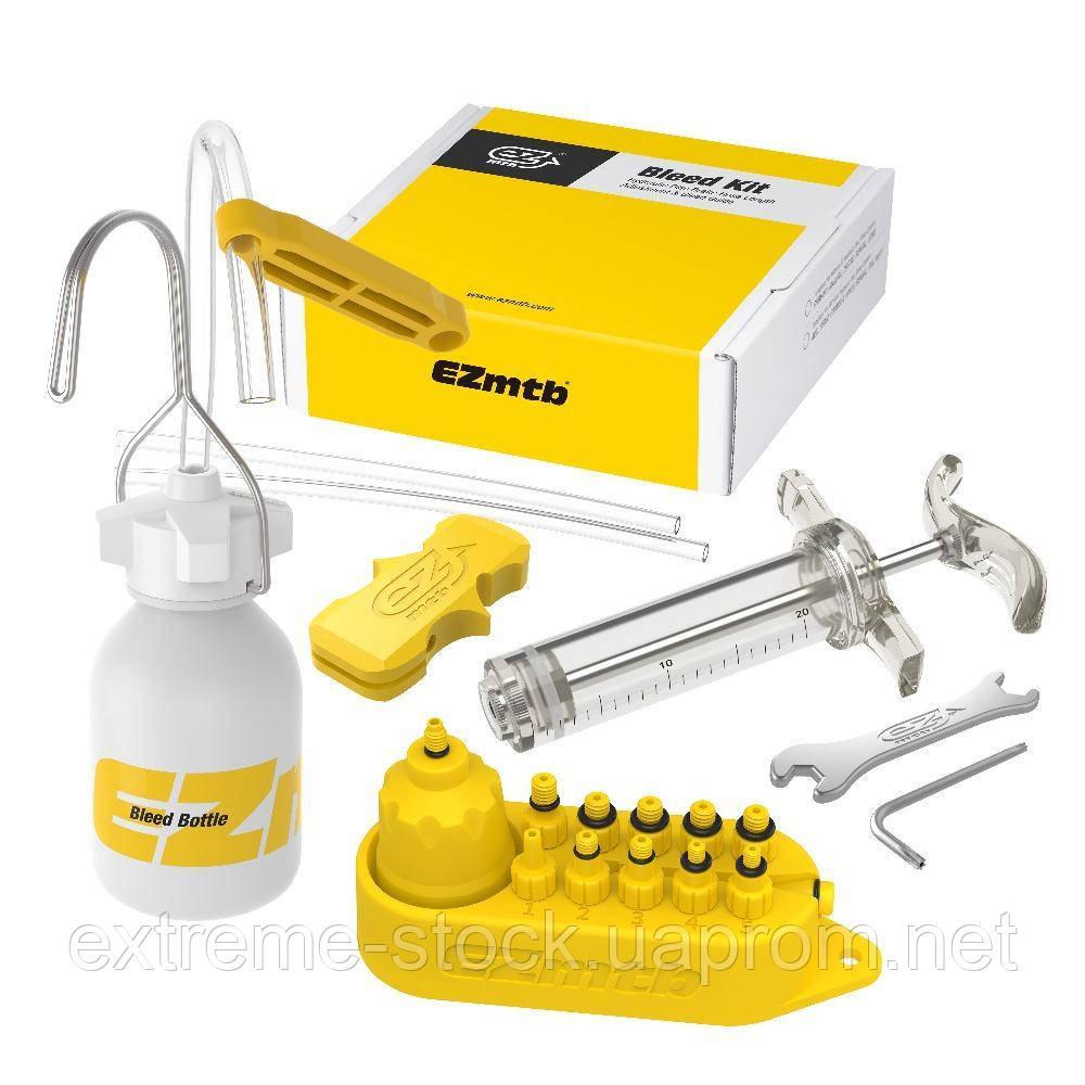 Набір EZmtb Bleeding Kit Professional для прокачування гідравлічних гальм