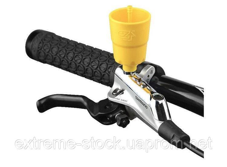 Воронка Ezmtb для прокачування гідравліки Shimano, жовта