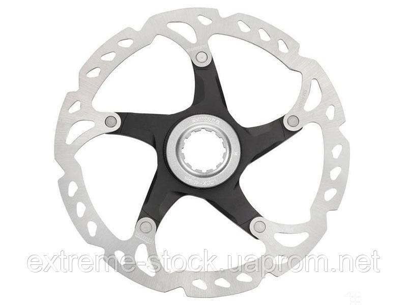 Ротор Shimano SLX SM-RT67, 160 mm, Centerlock, алюминиевый паук