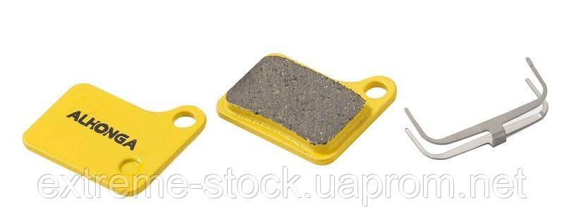Колодки дисковые ALHONGA HJ-DS15 Shimano совместимые Deore M555, C900, 901 Nexave organic black